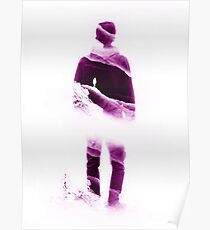 Love Isolation in Purple Poster