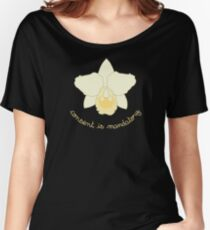Consent is Mandatory - Yellow Orchid Women's Relaxed Fit T-Shirt