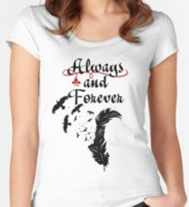 Klaus. Always and Forever. Women's Fitted Scoop T-Shirt