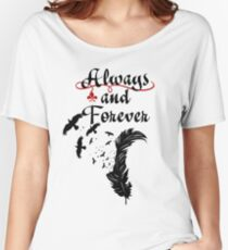 Klaus. Always and Forever. Women's Relaxed Fit T-Shirt