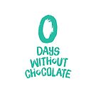 0 Days Without Chocolate by Wendy Tyrer
