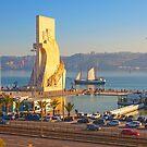 Monument to the Portuguese Discoveries. Tagus river. Lisbon by terezadelpilar ~ art & architecture