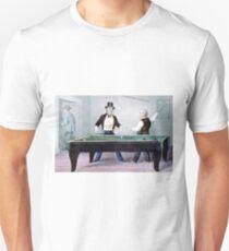 Billards, played out - 1874 - Currier & Ives Unisex T-Shirt