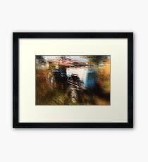 Multiple exposure Framed Print
