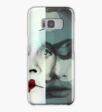 face mash up #1 Samsung Galaxy Case/Skin