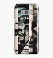 face  mash up#2 Samsung Galaxy Case/Skin