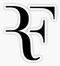 Roger Federer RF Logo Sticker