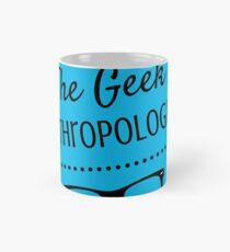 The Geek Anthropologist logo Wide Mug