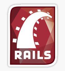 Ruby on rails Sticker