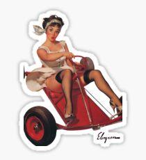 Pin up girl Sticker