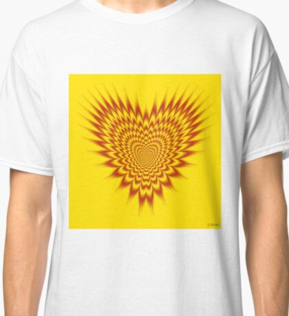 Heart in Flames Classic T-Shirt