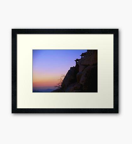 Fantasy Sunrise Framed Print
