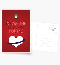 You're The Obi-Wan For Me - Star Wars Love Postcards