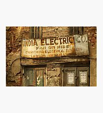 India Electric Co. Photographic Print