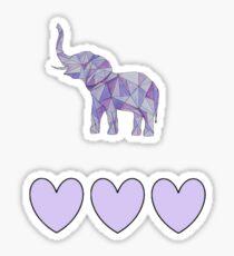 Purple Boho Sticker
