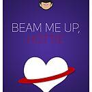Beam Me Up Hottie - Star Trek Love by The Eighty-Sixth Floor