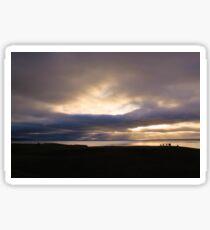 Moray Firth at Brora Sticker
