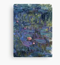 Claude Monet French Impressionism Oil Painting Waterlilies Canvas Print