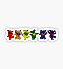 Grateful Dead Dancing Bears Sticker