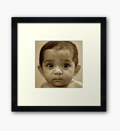 And I Thought We had a Special Connection... Framed Print
