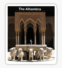 Alhambra, Granada, Spain Sticker