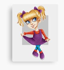 ANGELICA PICKLES Canvas Print