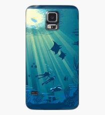Deep Blue Case/Skin for Samsung Galaxy