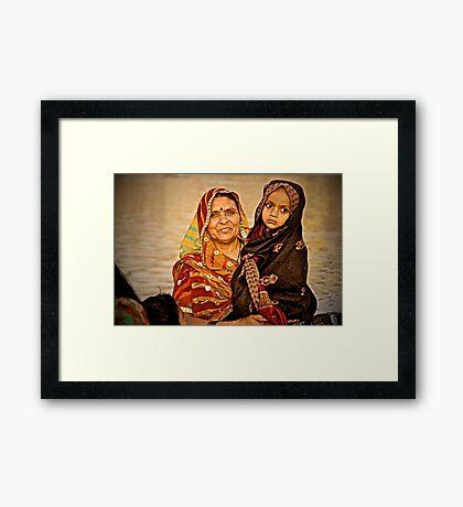 After Puja Framed Print