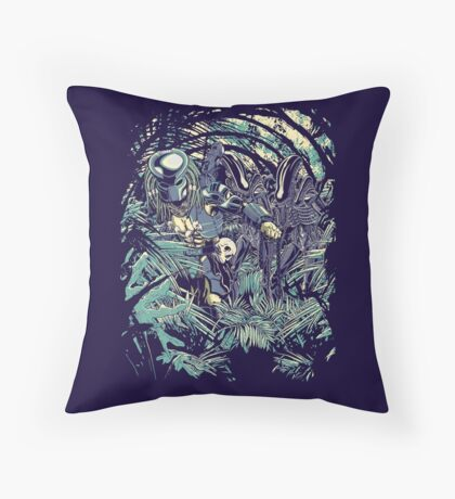 Welcome to the jungle. Throw Pillow