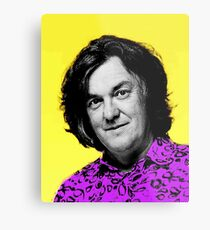 Top Gear Inspired Pop Art James May Metal Print