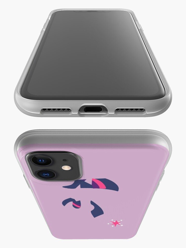 Alternate view of Twilight Sparkle Silhouette iPhone Case & Cover