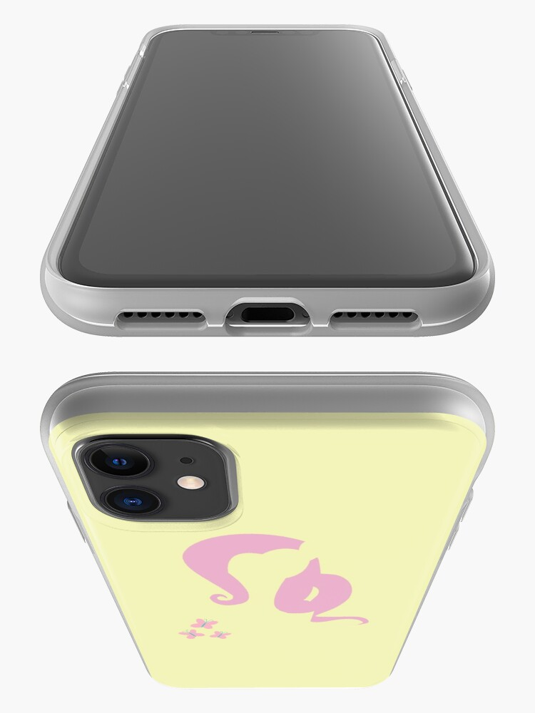 Alternate view of Fluttershy Silhouette iPhone Case & Cover