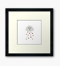 Poo- weather  Framed Print