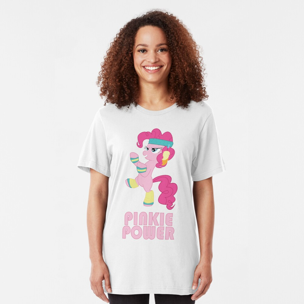 Pinkie Pie Power Slim Fit T-Shirt