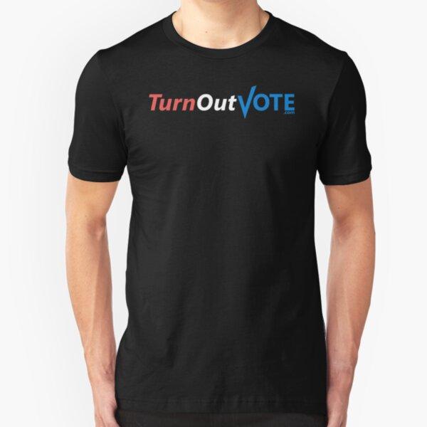 TurnOutVote.com1 Slim Fit T-Shirt