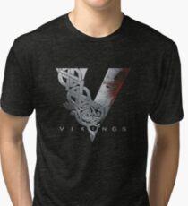 vikings logo 2 Tri-blend T-Shirt