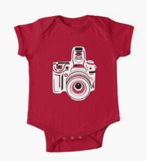 Black and White Camera Kids Clothes