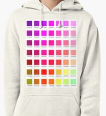 hex chart v1 Pullover Hoodie
