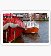 Whitby Harbour Sticker