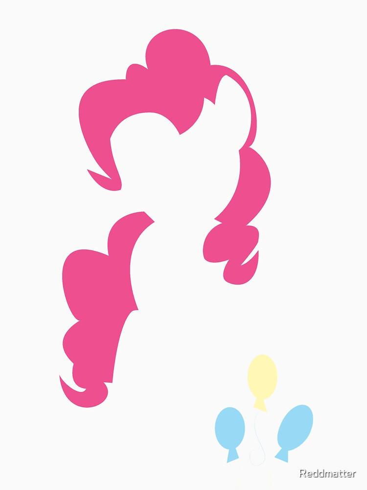 Pinkie Pie Silhouette  by Reddmatter