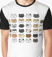 CAT BACKYARD Graphic T-Shirt