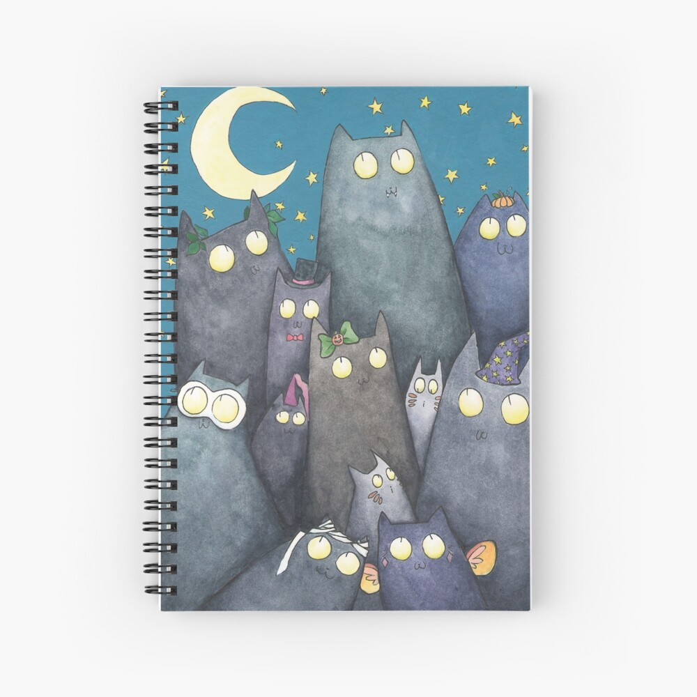 Lots of Cats Spiral Notebook