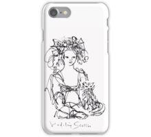 La Fille au Chat iPhone Case/Skin