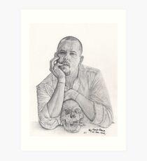 Alexander McQueen Savage Beauty Drawing Art Print