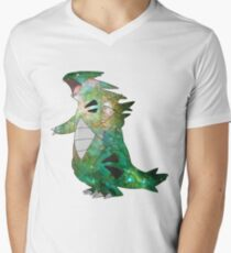 Tyranitar - Pokemon Men's V-Neck T-Shirt