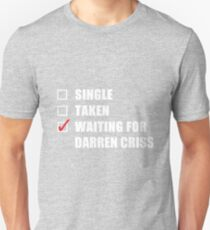 Waiting For Darren Criss Unisex T-Shirt