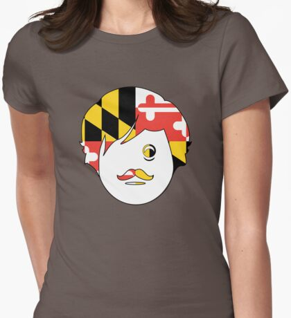 Edgar A. Boh with Maryland Flag (Face Only) T-Shirt
