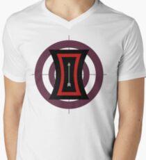 The Arrow of Their Love Men's V-Neck T-Shirt