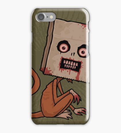Psycho Sack Monkey iPhone Case/Skin