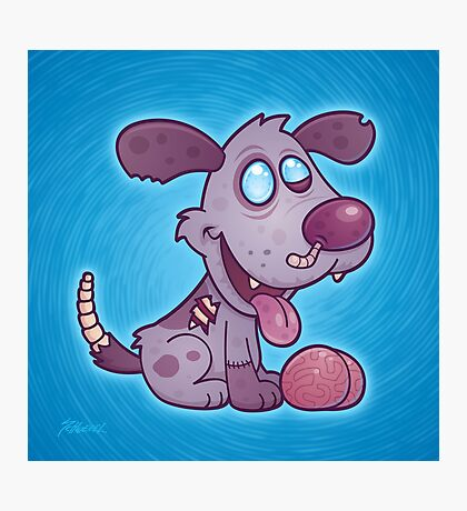Zombie Puppy Photographic Print